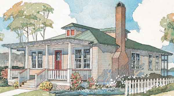 House Plan: Carolina Craftsman – A 2 Bedroom House Plan ...