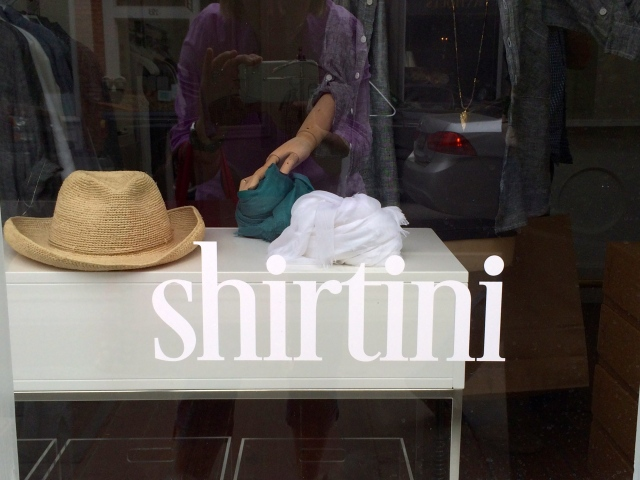 Shirtini - new shop on King Street, Charleston, SC