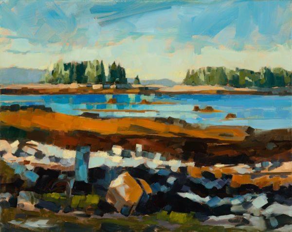"""Tidal Zone by Philip Frey - 16x20"""" Oil"""