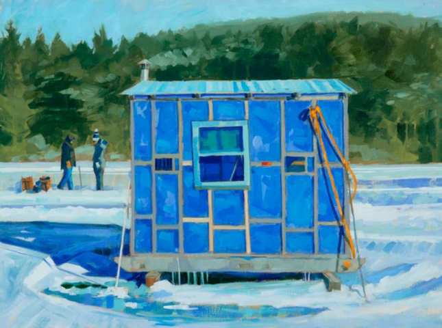 Mondrian's Icd Fish Shack by Philip Frey