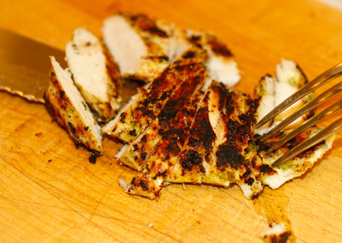 Greek Yogurt Marinated Grilled Chicken - Recipe inspired by Bon Appetit Photo by Mark Peterson
