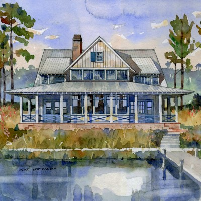 House Plan The May River House By Southern Living Sl1860
