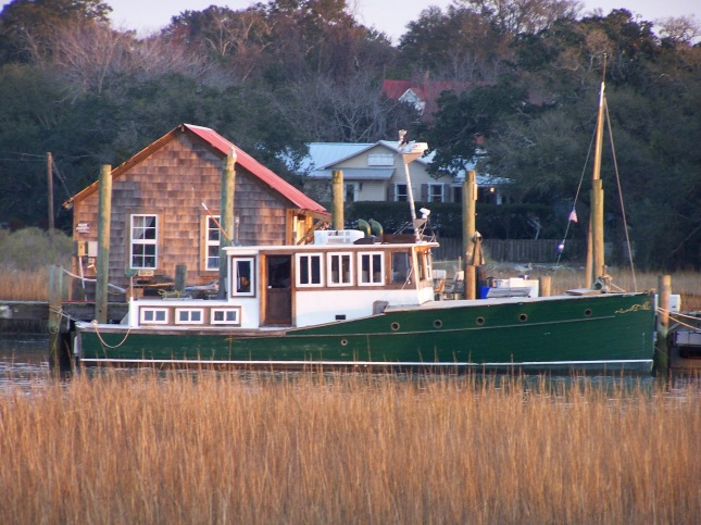 The Green Boat... Shem Creek