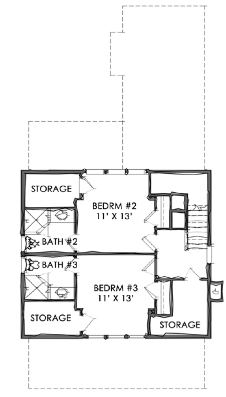 House plan plan tnh sc 47a by moser design group for Moser design group house plans