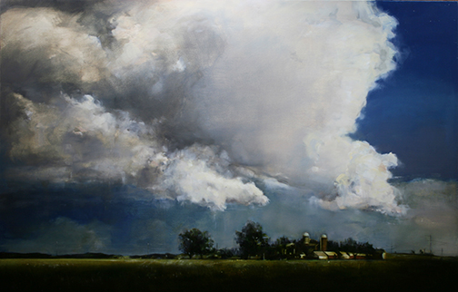 The Thunderhead by Ceasar Citraro  Image: ElizabethPollieFineArt.com