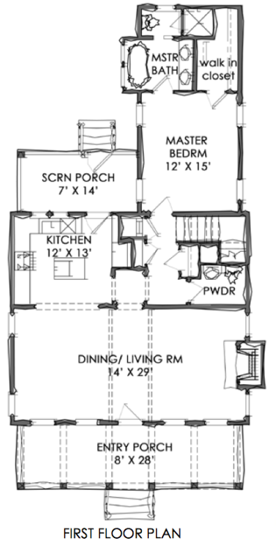 TNH-SC-47A House Plan by Moser Design Group