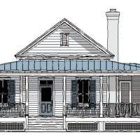 Banning Court House Plan by Moser Design Group via Southern Living House Plans!