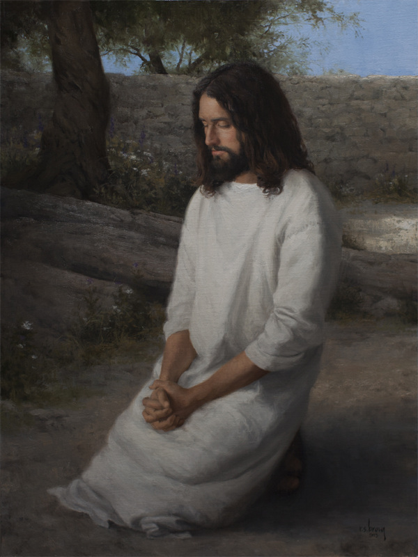The Lord's Prayer by Ryan Brown  -  24 x 32 Oil