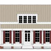 House Plan: Small Cottage plan TNH-SC-17B by Moser Design Group