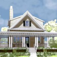 House Plan: Curlew Cottage by Flatfish Island Designs!