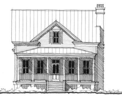 House Plan Coosaw River Cottage C0030 By Allison Ramsey