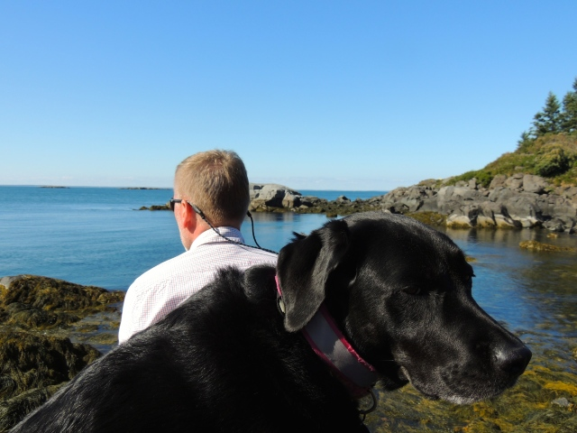 Fred (& Ella Pickle) on Monhegan (Maine)