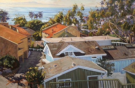 St Marys Garden by Scott W. Prior Best in Show - 15th Annual Laguna Plein Air Painting Invitational (2013)