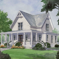 House Plan: Four Gables (SL-1832) a Southern Living Plan!