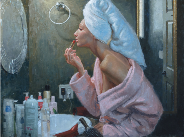 "Natural Beauty by Casey Childs 24x32"" Oil"