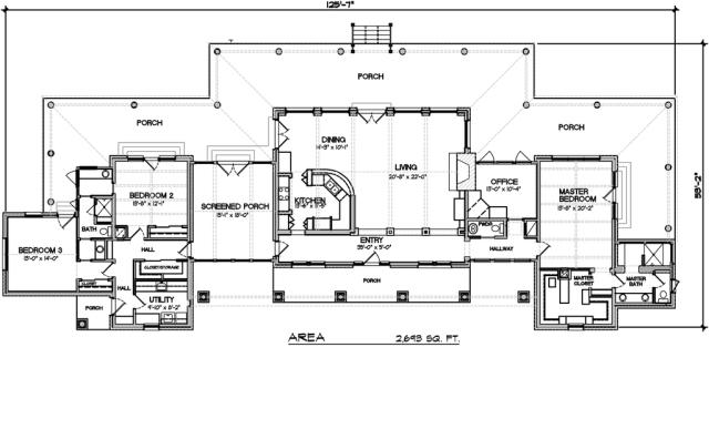 House Plan 140-149 by Houseplans.com