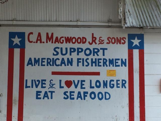 Great FRESH shrimp at Magwood!