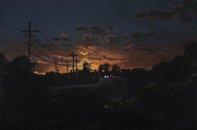 Passing Light by Lori Kiergaard