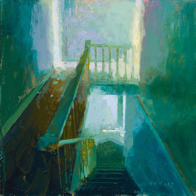 The Bannister (2014) by William Wray