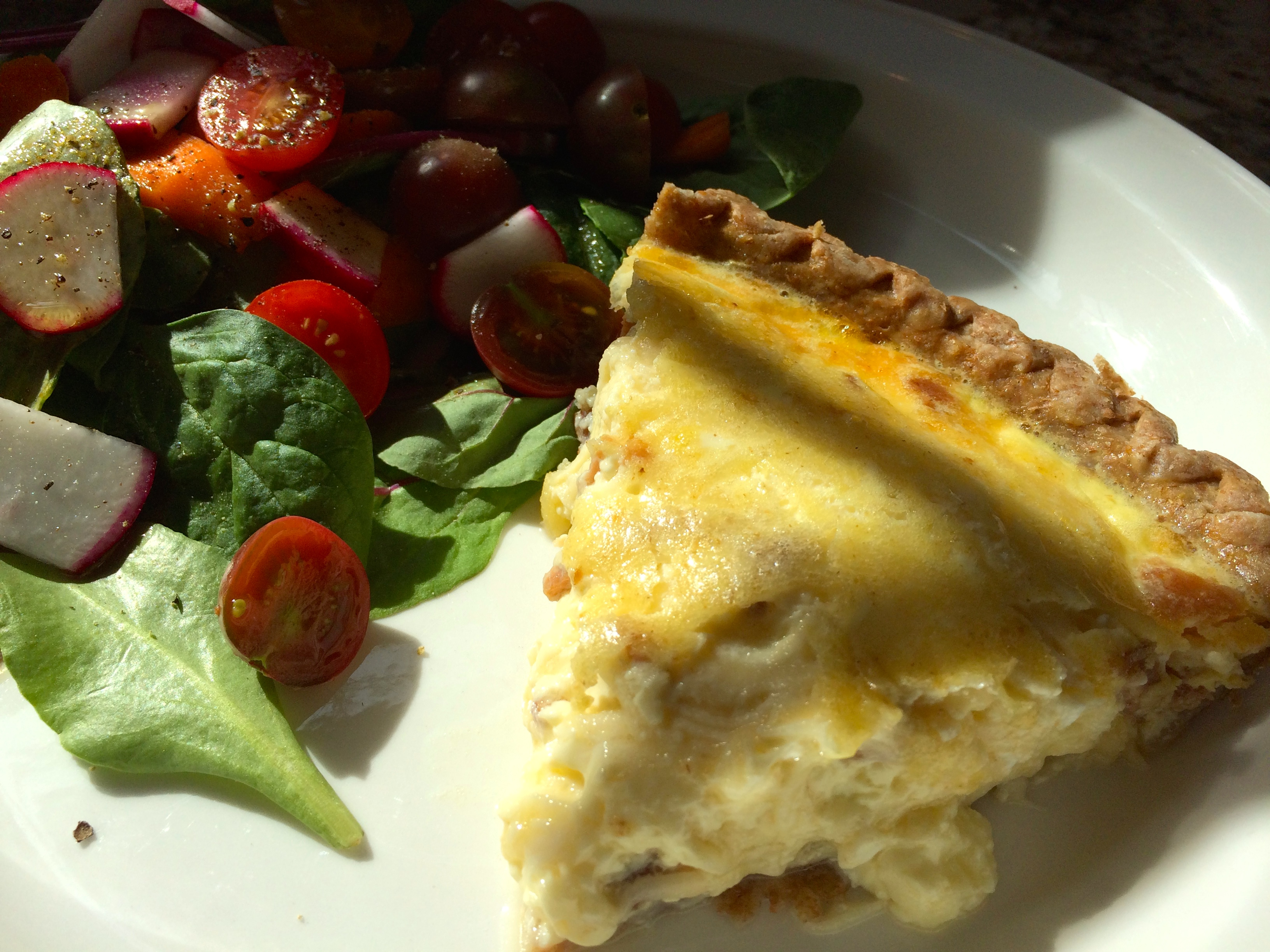 Recipe quiche lorraine and yes real men eat quiche quiche artfoodhome quiche lorraine forumfinder Choice Image