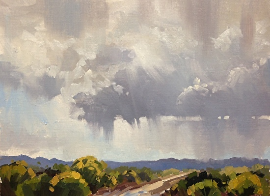 25 Minutes to Rain by Mary Jabens