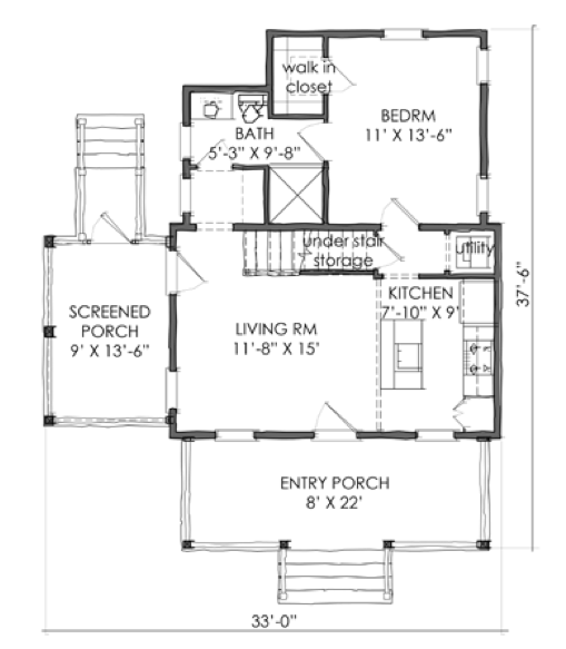 House Plan Tnh Pc 09a By Moser Design Group