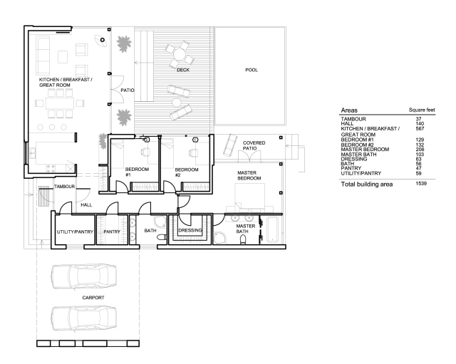 Plan 552-2 A Signature Plan by Arch L.A.B. from Houseplans.com