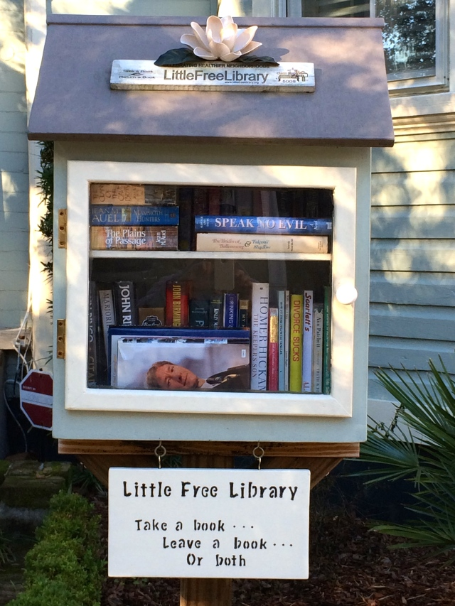 Little Free Library - What a concept!