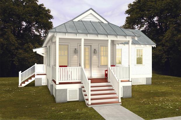House Plan 514-20 by Katrina Cottage Designers for Houseplans.com