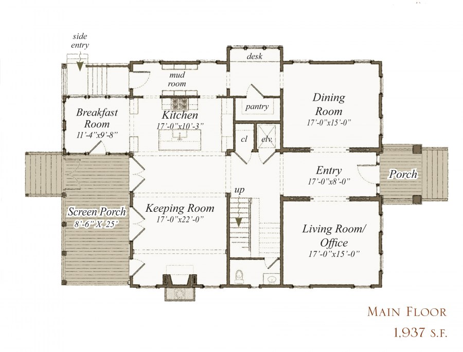house plan 263 bohicket st by our town plans