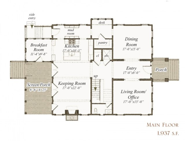 263 Bohicket St by Our Town Plans