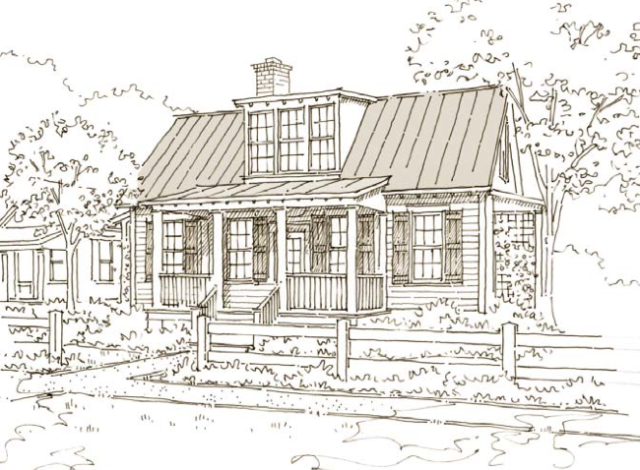 231 Easton Way House Plan by Our Town Plans