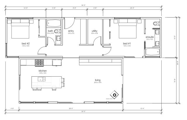Waterton Plan by Karoleena