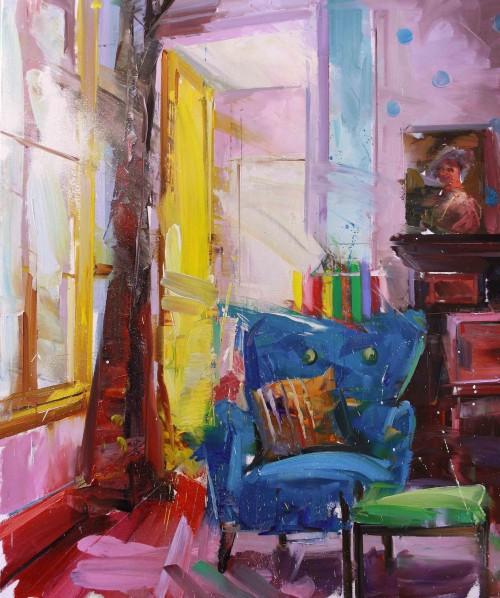 Yellow Door by Paul Wright