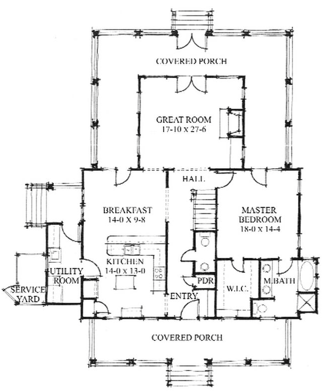 House Plan Oak Spring By Allison Ramsey Architects Artfoodhome Com