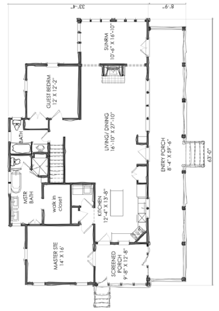 House Plan Tnh Lc 40a By Moser Design Group