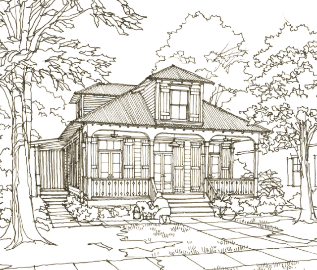House Plan 41 Daphne Way By Our Town Plans