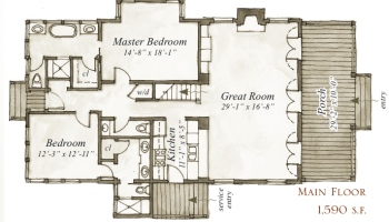 House Plan  Wilmington Place by Our Town Plans    ArtFoodHome comHouse Plan  Daphne Way by Our Town Plans