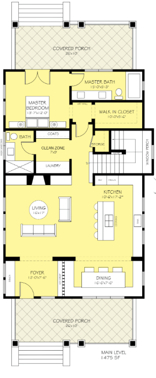Plan 888-10 by Houseplans.com - Architect Nicholas Lee