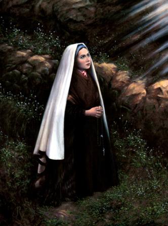 St. Bernadette by Jerome Rochon