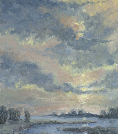 Marsh Sunset by Scott Dwyer