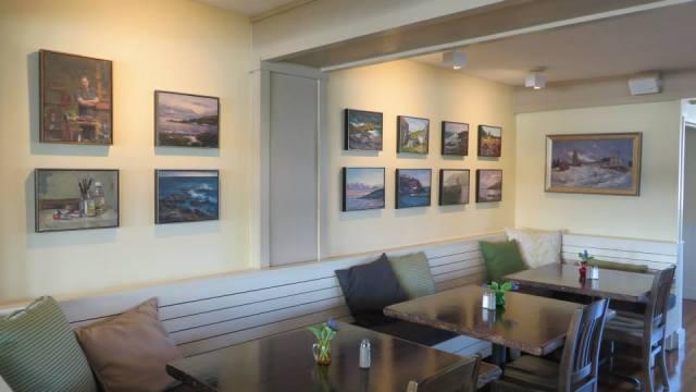 bruckmann show at isl inn lupine gallery image