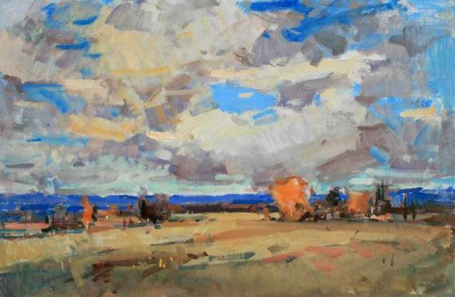 "Autumn Sky by Eric Jacobsen 20x30"" Oil"