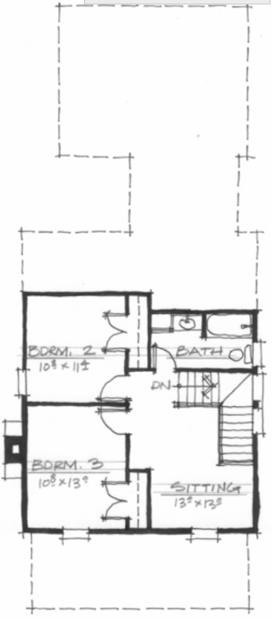 The Bartlett (NC0004) plan by Allison Ramsey Architects