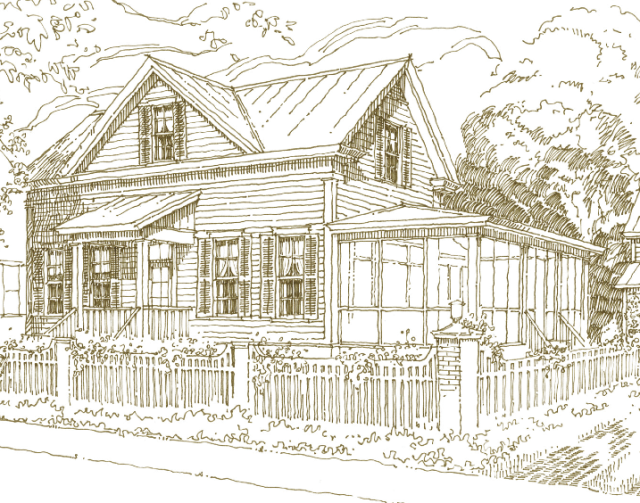 222 Greensboro Place by Our Town Plans