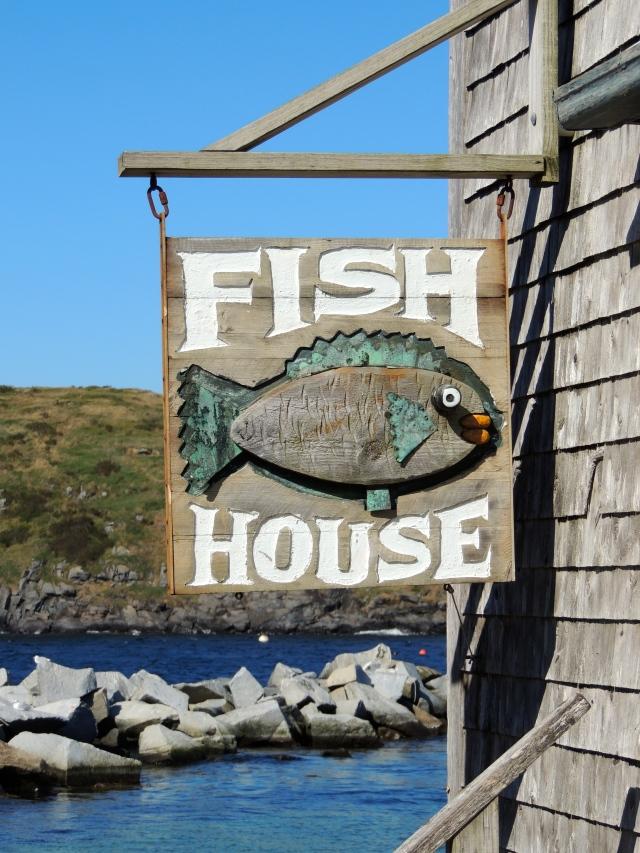 Fish House - Monhegan | ArtFoodHome.com