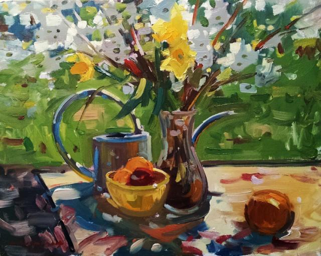 Kyle Buckland | Spring Still Life