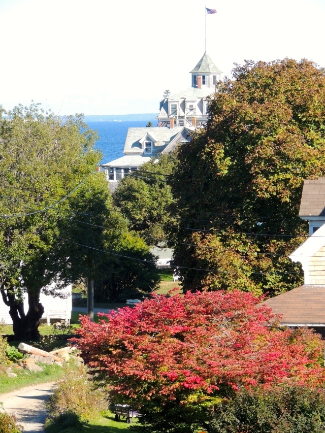 View of Island Inn - Monhegan, ME | ArtFoodHome.com