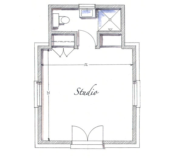 Small Backyard Guest House Plans: ArtFoodHome.com