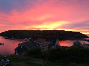 Monhegan Sunset